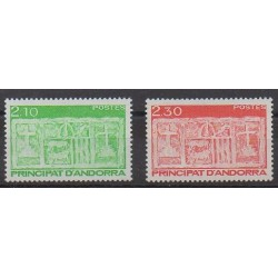 Andorre - 1990 - No 390/391