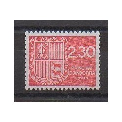 French Andorra - 1990 - Nb 387 - Coats of arms