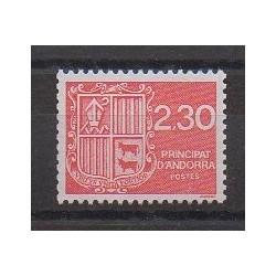 Andorre - 1990 - No 387 - Armoiries