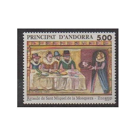 Andorre - 1989 - No 384 - Art - Religion