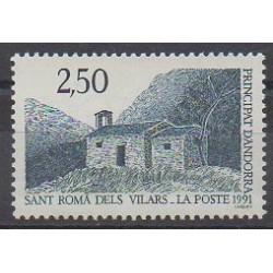 Andorre - 1991 - No 400 - Églises