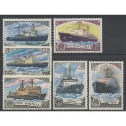 Russie - 1978- No 4559/4564 - Bateaux