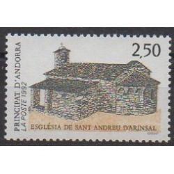 Andorre - 1992 - No 415 - Églises