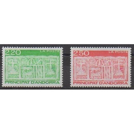 Andorre - 1991 - No 410/411