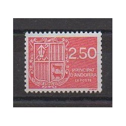 French Andorra - 1991 - Nb 409 - Coats of arms