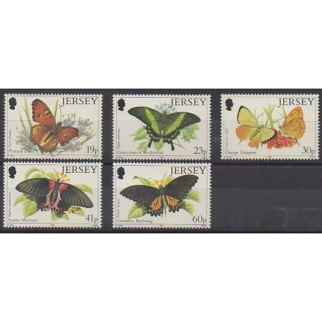 Jersey - 1995 - No 706/710 - Insectes