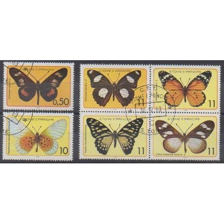 Saint-Thomas et Prince - 1979 - No 530/535 - Insectes - Oblitérés