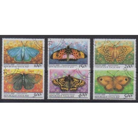 Togo - 1999 - No 1688AU/1688AZ - Insectes - Oblitérés