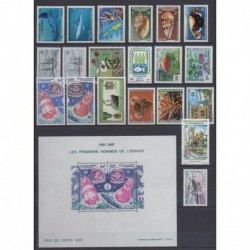 New Caledonia - Complete year - 1981 - Nb 443/452 - PA210/PA219 - BF4