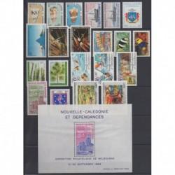 Nouvelle-Calédonie - Année complète - 1984 - No 481/490 - PA236/PA246 - BF6
