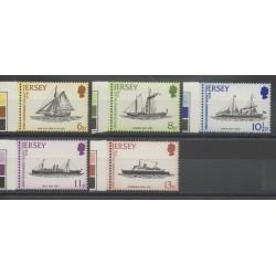 Jersey - 1978- Nb 181/185 - Boats