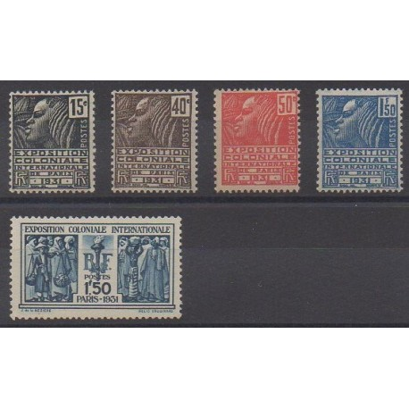 France - Poste - 1931 - No 270/274