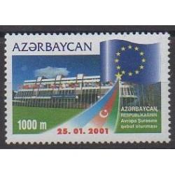 Azerbaijan - 2001 - Nb 419 - Europe