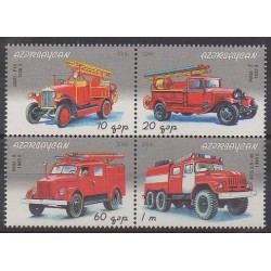 Azerbaijan - 2006 - Nb 568/571 - Firemen