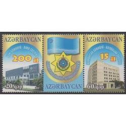 Azerbaijan - 2007 - Nb 578/579 - Monuments