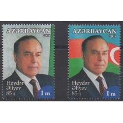 Azerbaijan - 2008 - Nb 617/618 - Celebrities