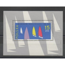 Pologne - 1965- No BF 43 - Bateaux