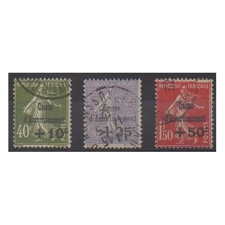 France - Poste - 1931 - No 275/277 - Oblitérés
