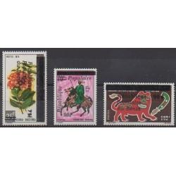 Bénin - 1986 - No 626/628