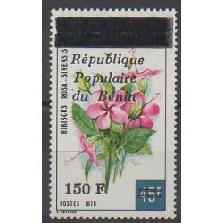 Bénin - 1986 - No 637 - Fleurs