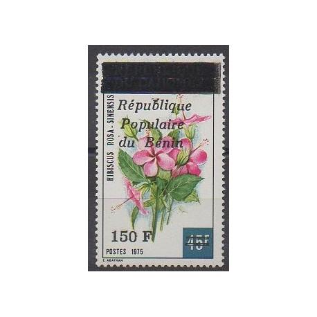 Benin - 1986 - Nb 637 - Flowers