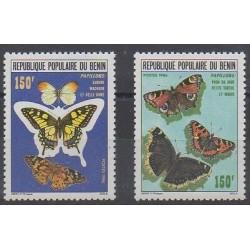 Bénin - 1986 - No 644/645 - Insectes