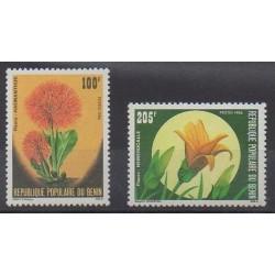 Bénin - 1986 - No 642/643 - Fleurs
