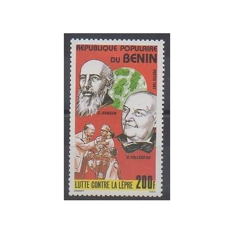 Bénin - 1987 - No 655 - Santé ou Croix-Rouge