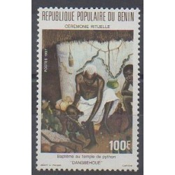 Benin - 1987 - Nb 652 - Religion
