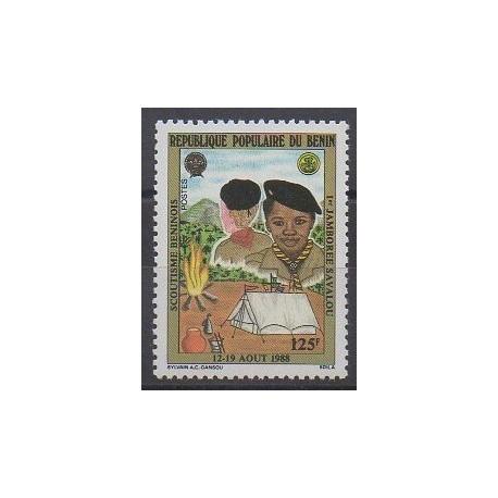 Bénin - 1988 - No 661 - Scoutisme