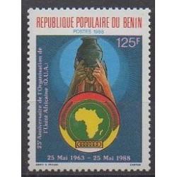 Benin - 1988 - Nb 659 - Various Historics Themes
