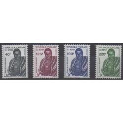 Benin - 1988 - Nb 665/668