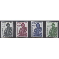 Bénin - 1988 - No 665/668
