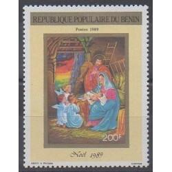 Bénin - 1989 - No 679 - Noël