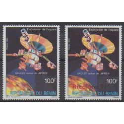 Benin - 1990 - Nb 689 et 692 - Space