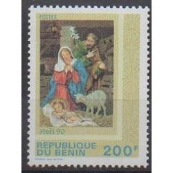 Bénin - 1990 - No 691 - Noël