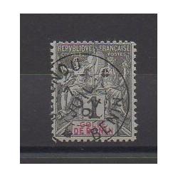 Bénin - 1893 - No 20 - Oblitéré