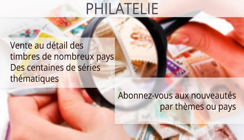 Philatélie timbre de collection thématique